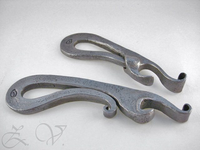 Wrought bottle  openers.