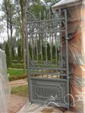 Right half of gate after restoration.